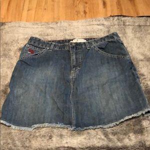 Tommy Hilfiger Blue Jean Skirt